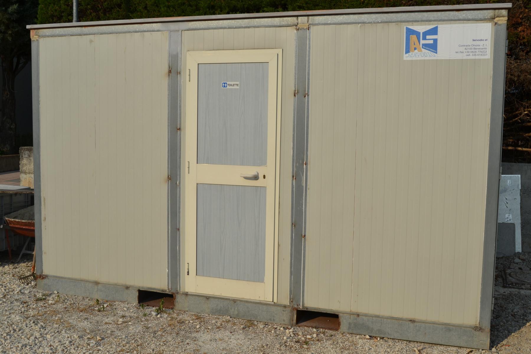 Bagni Container - ALLESTIMENTI SERVODIO